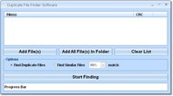 Find and Delete (Remove) Duplicate Files Software screenshot